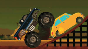 The Monster Truck Kids Video Stunts And Actions Monster