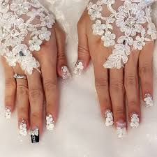 creative ideas for wedding nails design all for fashions