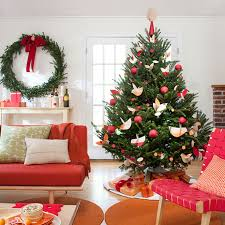 christmas tree decorated beautiful christmas tree decorating ideas for you library vector