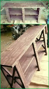 diy entryway table plans diy furniture plans tutorials pallet entryway table 30 easy
