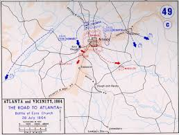 Battle Of New Orleans Map by Beat Their Brains Out U2013 The Battle Of Ezra Church U2013 Civil War