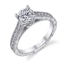 engagement ring engravings vintage engraved diamond engagement ring