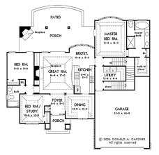 Donald A Gardner Floor Plans by European Style House Plan 3 Beds 2 00 Baths 1583 Sq Ft Plan 929 59