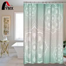 aliexpress com buy indian mandala shower curtain lotus printed