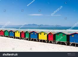 beach huts muizenberg beach stock photo 617137196 shutterstock