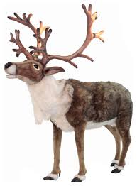 size nordic reindeer stuffed animal transitional