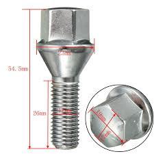 aliexpress com buy wheel nut bolt lug stud alloy m12x1 5mm for