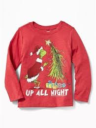 dr seuss the grinch for toddler boys navy