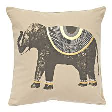 bear decorations for home decor traditional ethnic indian elephant pillow for home