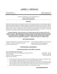 Example Of A Military Resume Sample Military To Civilian Resume Military Resume Military