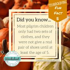 interesting and unique facts about pilgrims more than a worksheet