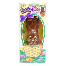 reese s easter bunny palmer peek a boo hollow milk chocolate easter bunny 10 oz