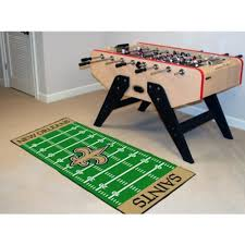 amazon com nfl new orleans saints floor runner sports fan