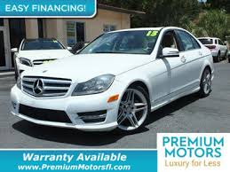 mercedes warranty information 2013 used mercedes c class at premium motors serving