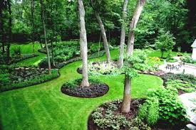 Landscaping Ideas For Large Backyards by Big Backyard Landscaping Ideas Home Design