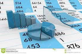 Spreadsheet Charts Spreadsheet And Charts Stock Image Image 27467831