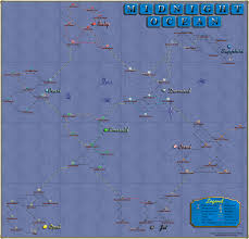 Pirates Map Yohoho Puzzle Pirates Map