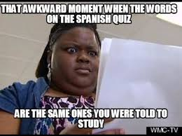 Awkward Moment Meme - meme maker that awkward moment when the words on the spanish