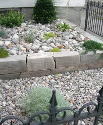 garden ideas river rock landscape stone how to use landscape