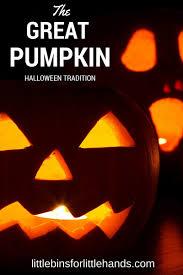great pumpkin family halloween tradition candy idea