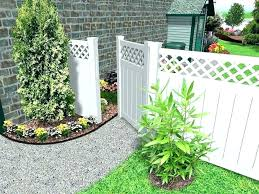 Backyard Fence Decorating Ideas Garden Fence Decorations Decorations Outdoor Fence Decorations