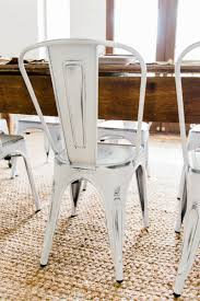 Metal Dining Room Chair by New Farmhouse Dining Chairs Liz Marie Blog