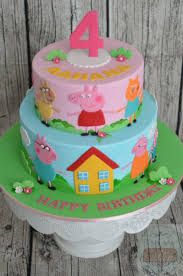 peppa pig cake ideas 354 best peppa pig cakes images on birthday cakes cake