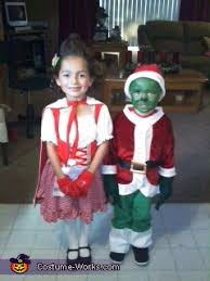 Grinch Halloween Costume Cindy Lou Grinch Costumes Cindy Lou Grinch Diy
