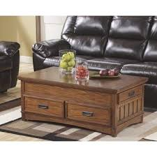 ashley furniture mckenna coffee table amazon com ashley furniture signature design cross island coffee