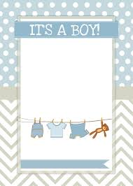 top collection of free templates for baby shower invitations