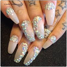 Rhinestone Nail Design Ideas 81 Best Nail Designs Images On Pinterest Make Up Hairstyles And