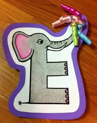 letter e crafts storytime letter e the door 2 door librarian
