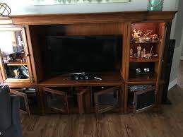 solid wood entertainment cabinet solid wood entertainment center furniture in lake worth fl offerup