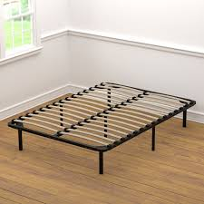 handy living wood slat bed frame full bed frame u0026 box spring