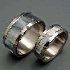 Titanium Wedding Rings by Titanium Wedding Ring Pairs 2 Rings Minter And Richter Designs