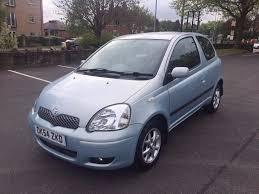 toyota yaris 1 3 vvti 2004 54 reg 3 door blue alloys cd player