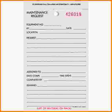 Maintenance Request Form Template by Maintenance Request Form Letterhead Template Sle