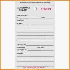 maintenance request form template maintenance request form letterhead template sle