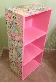 a little bolt of life diy decoupage bookcase decoration ideas