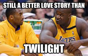 Kobe Memes - shaq and kobe memes quickmeme