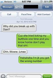 Failed Text Message Memes Com - funny wrong number texts funniest messages sent to the wrong people