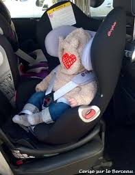 regle siege auto test le siège auto sirona de cybex cerise sur le berceau