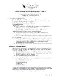 physical therapy resume examples 21 therapist entry level massage