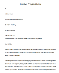 9 complaint letter sample free sample example format download