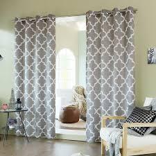 amazon com best home fashion moroccan print velvet curtains