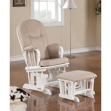 shermag madison glider white with beige target