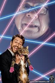 cat yearbook laser cat tribute