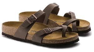 mayari women u0027s cork footbed flat sandals in mocha brown new