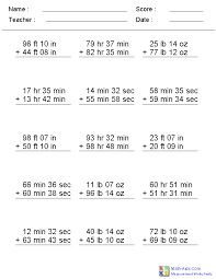 measuring units worksheet measurement worksheets dynamically created measurement worksheets