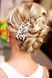 wedding hairstyles with pretty hairpieces loose updo updo and